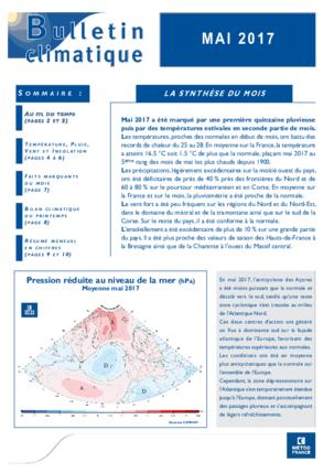 4376b1580c Données Publiques de Météo-France - Bulletins climatiques de France ...